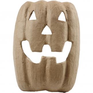 Halloweenmaske, H: 21,5 cm, B: 17 cm, 1stk.
