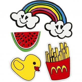 Soft Stickers, Summer Fun, 12,2x17,75 cm, 1 ark