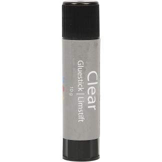 Clear limstift, 10 g, Rund, 1stk.
