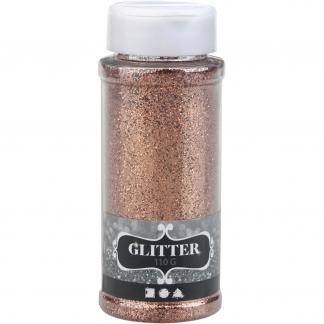Glitter, kobber, 110 g/ 1 ds.