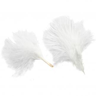 Kalkundun, L: 8-10 cm, hvid, 3g