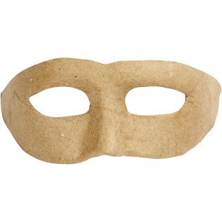 Zorro maske, H: 8 cm, B: 21 cm, 1 stk.